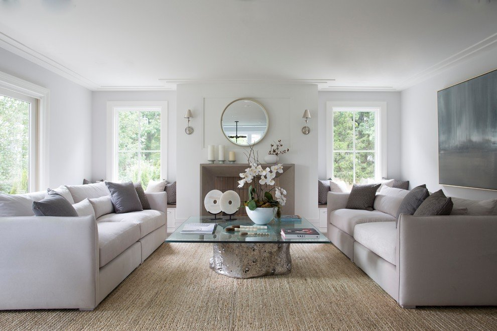 Kiểu phòng khách đẹp phù hợp cho không gian ấm áp quây quần bên gia đình