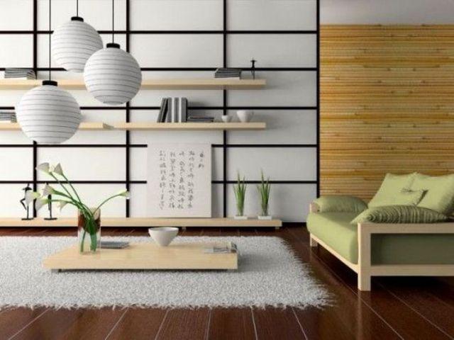 Phong cách trưng bày phòng khách của người Nhật tối giản nhưng tinh tế tuyệt đối