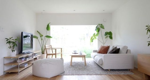 Mang cây xanh vào nhà tạo sự gần gũi thân thiện với thiên nhiên được người Nhật trưng dụng triệt để