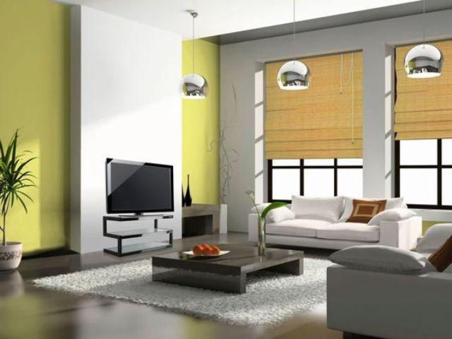 Các kiểu rèm, mành bằng tre được sử dụng rộng rãi trong không gian phòng khách của người Nhật
