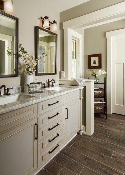 Phòng tắm lạ mắt và độc đáo với đồ trang trí mang đậm thẩm mỹ của gia chủ