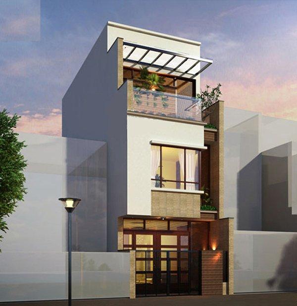 Mẫu thiết kế nhà 2 tầng 1 tum 06