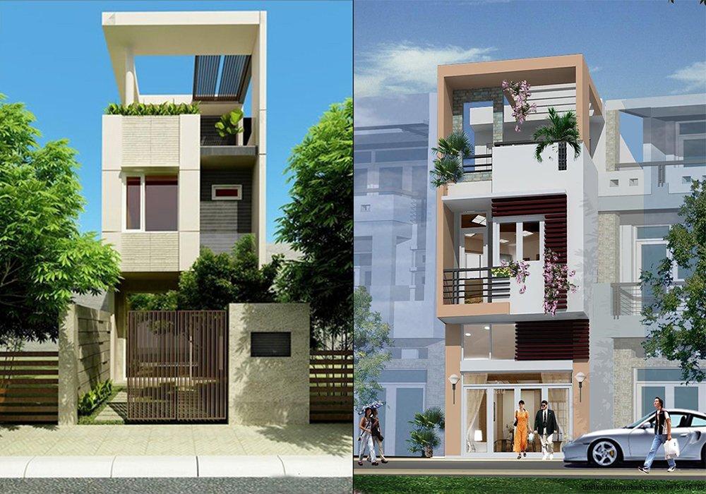 Mẫu thiết kế nhà 2 tầng 1 tum đơn giản mà cuốn hút post image
