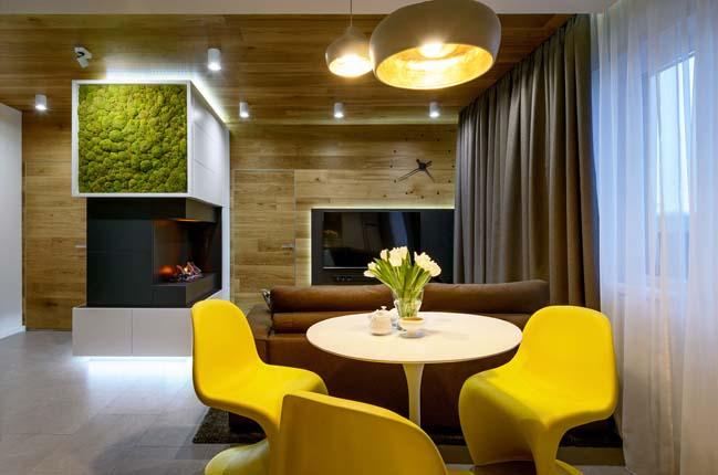 Mẫu thiết kế nội thất chung cư 60m2 đẹp gần gũi với thiên nhiên post image