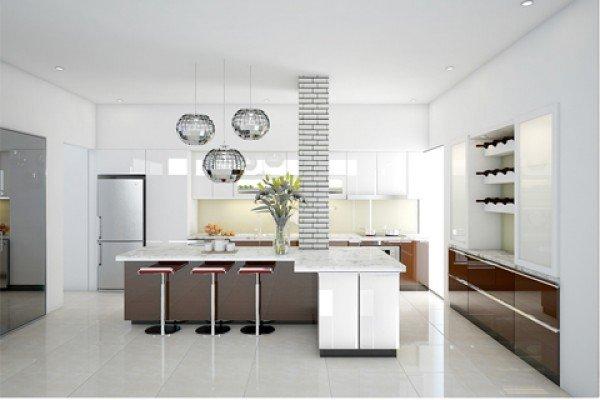 Thiết kế phòng bếp đẹp với 10 mẫu tủ bếp hiện đại post image