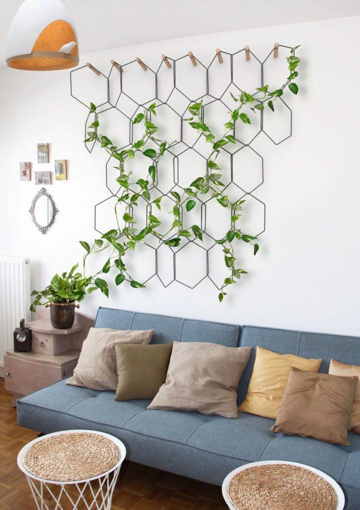Trang trí nội thất cây xanh cho nhà phố