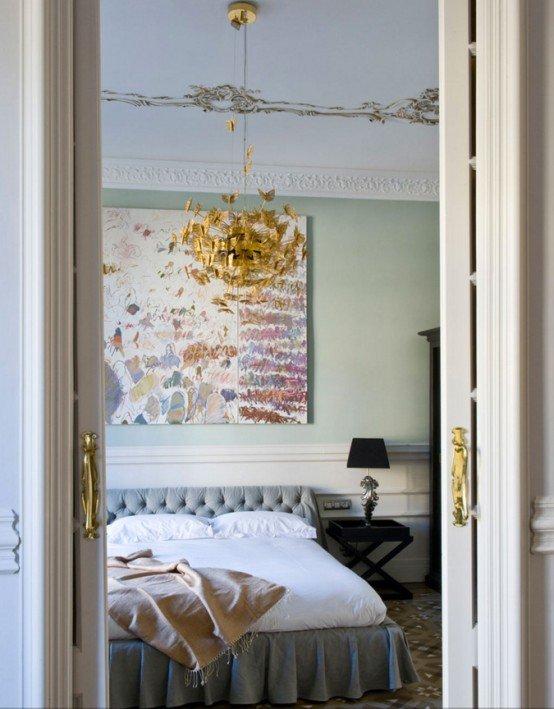 Thiết kế phòng ngủ đẹp cho quý cô thanh lịch