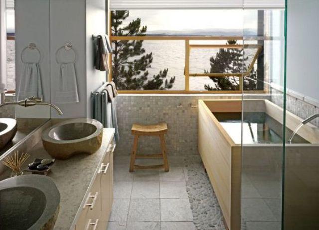 F5 phòng tắm theo phong cách Nhật, chốn yên bình khi trở về thumbnail