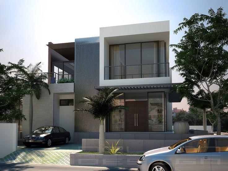 Thiết kế biệt thự 2 tầng hiện đại theo kiểu kiến trúc Nhật post image