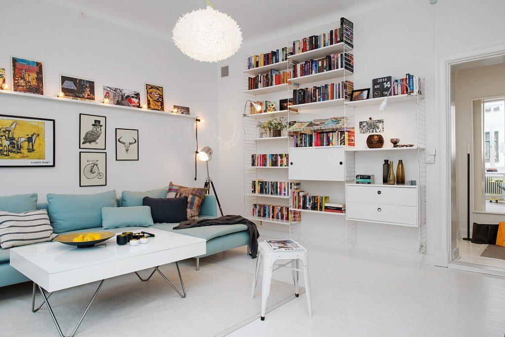 Thiết kế căn hộ 50m2 2 phòng ngủ cuốn hút với nội thất thông minh thumbnail