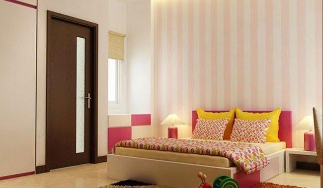 Thiết kế nhà 2 tầng 3 phòng ngủ - Phòng ngủ