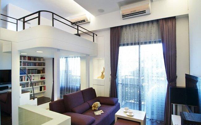 Thiết kế nhà nhỏ 20m2 đẹp như căn hộ cao cấp post image