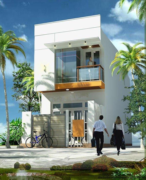 Mẫu thiết kế nhà phố 2 tầng 22