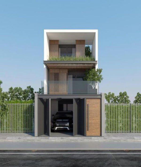 Mẫu thiết kế nhà phố 2 tầng 21