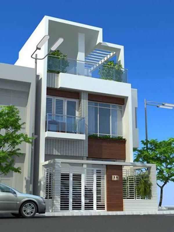 Mẫu thiết kế nhà phố 2 tầng 20