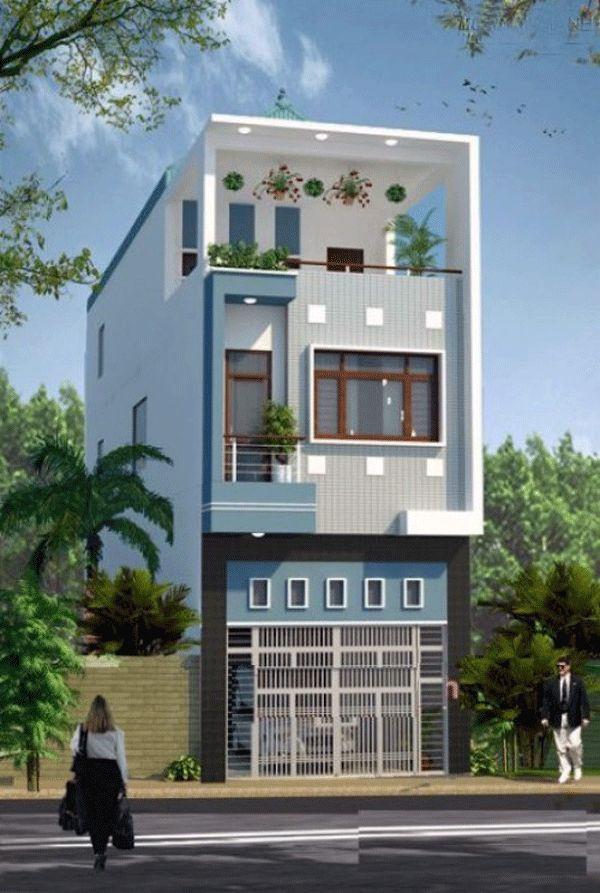 Mẫu thiết kế nhà phố 2 tầng 19