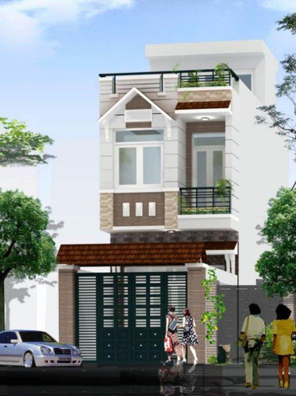 Mẫu thiết kế nhà phố 2 tầng 18