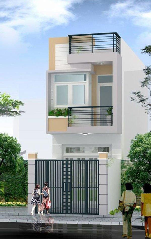 Mẫu thiết kế nhà phố 2 tầng 14