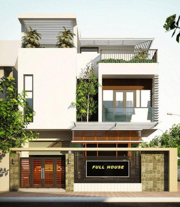 Mẫu thiết kế nhà phố 2 tầng 29