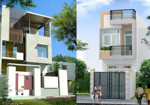 Bộ sưu tập 30 mẫu thiết kế nhà phố 2 tầng tuyệt đẹp thumbnail