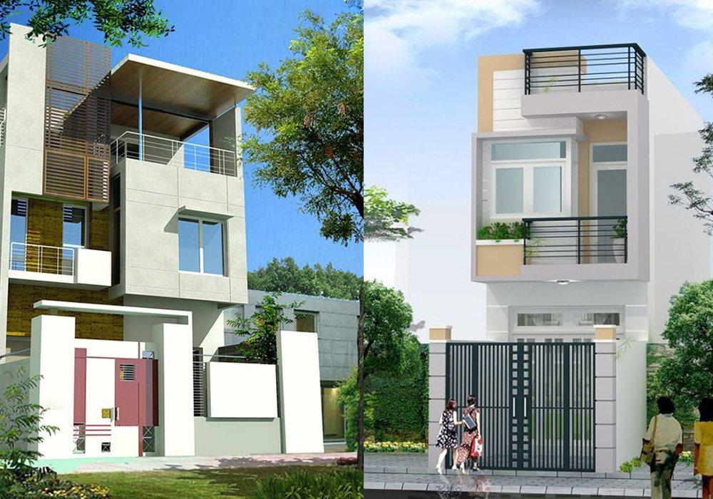 Bộ sưu tập 30 mẫu thiết kế nhà phố 2 tầng tuyệt đẹp post image
