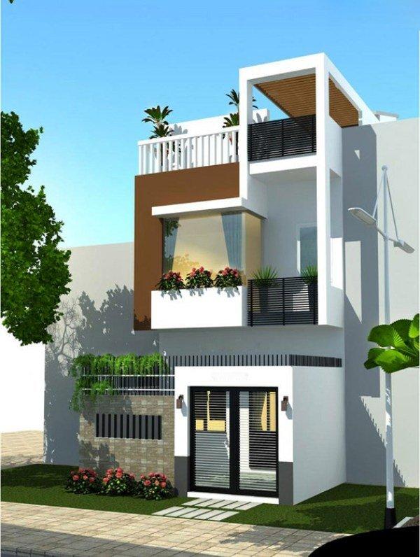Mẫu thiết kế nhà phố 2 tầng 28