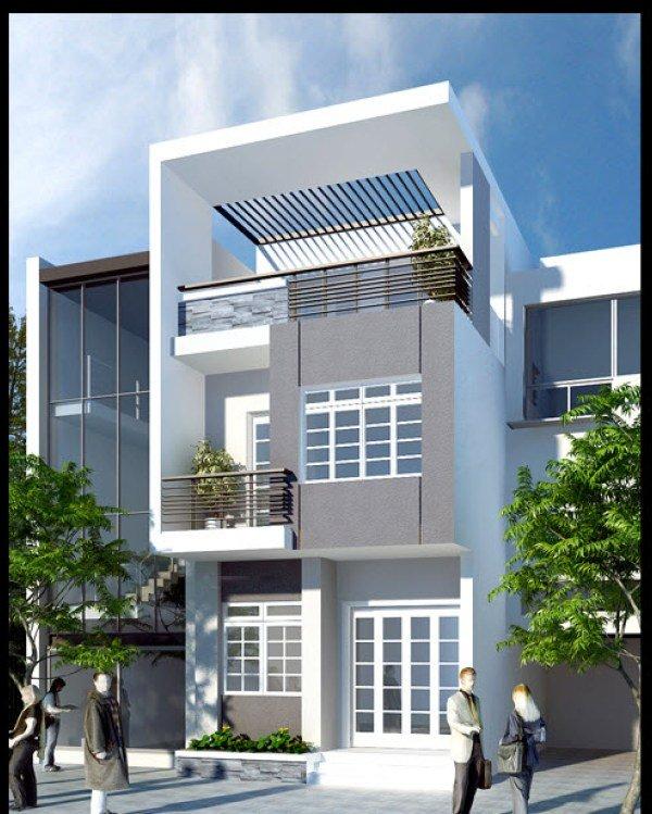 Mẫu thiết kế nhà phố 2 tầng 27