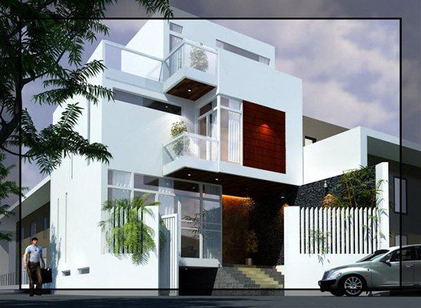 Mẫu thiết kế nhà phố 2 tầng 25