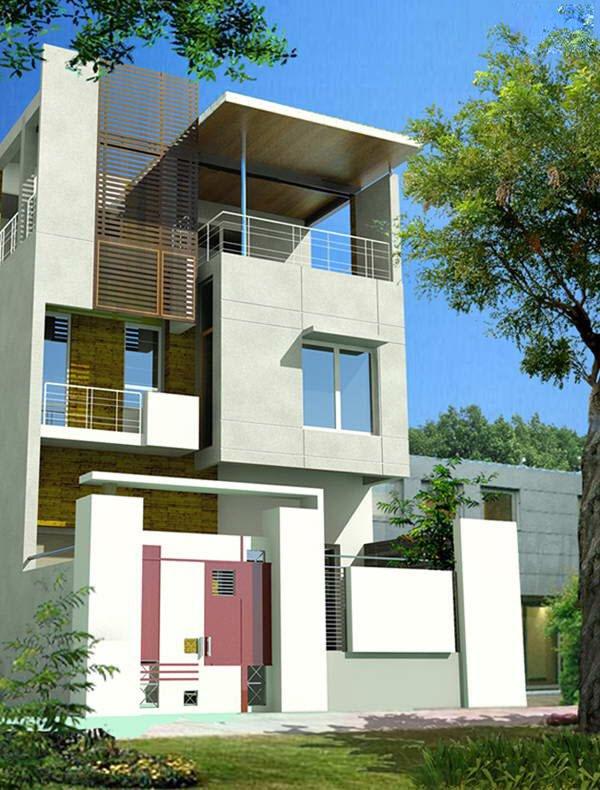 Mẫu thiết kế nhà phố 2 tầng 24