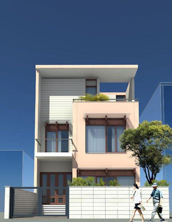 Mẫu thiết kế nhà phố 2 tầng 23