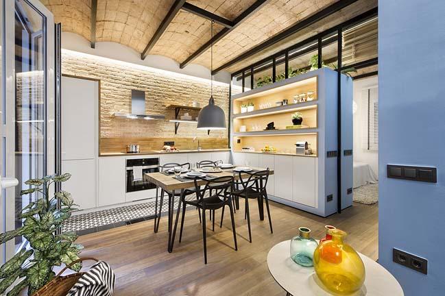 Thiết kế nội thất chung cư lấy cảm hứng từ biển đẹp ngất ngây post image