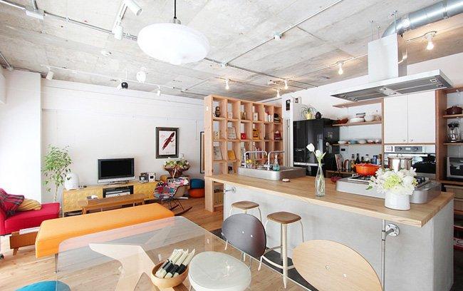 Thiết kế nội thất thông minh cho căn hộ nhỏ của cặp vợ chồng trẻ post image