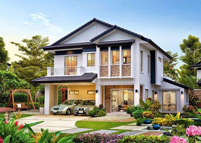 Top 10 mẫu nhà biệt thự 2 tầng đẹp hiện đại năm 2017 thumbnail