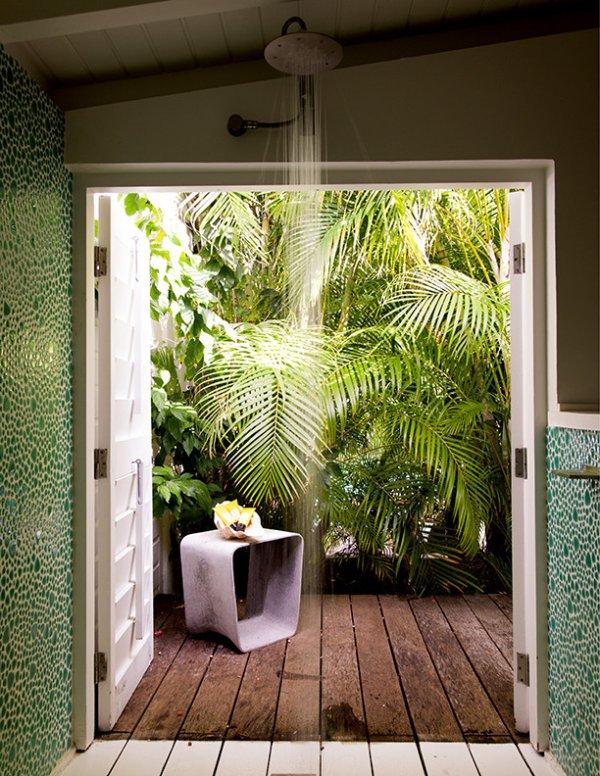 12 mẫu thiết kế cho phòng tắm mùa hè