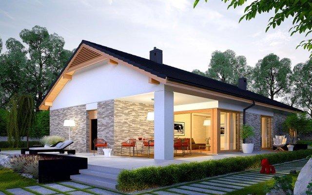 15 mẫu thiết kế biệt thự nhà vườn 1 tầng đẹp nhất năm 2018 post image