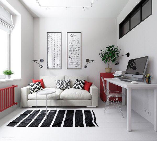2 mẫu thiết kế căn hộ nhỏ 30m2 cực yêu và cá tính thumbnail