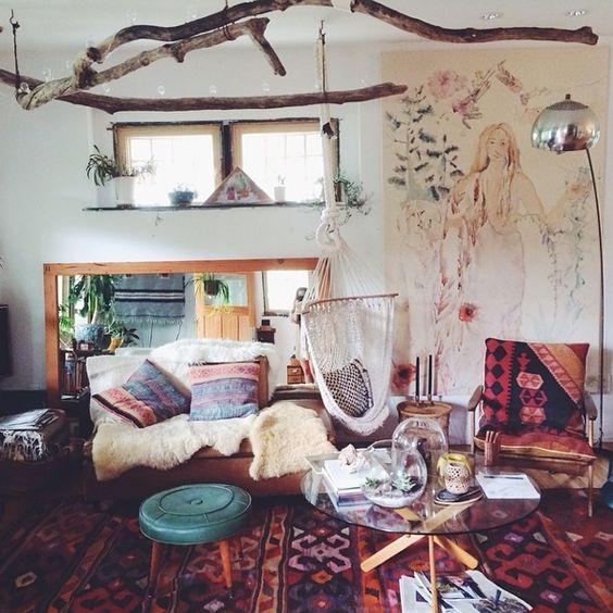 26 cách trang trí phòng khách nhà cấp 4 đậm chất Bohemian