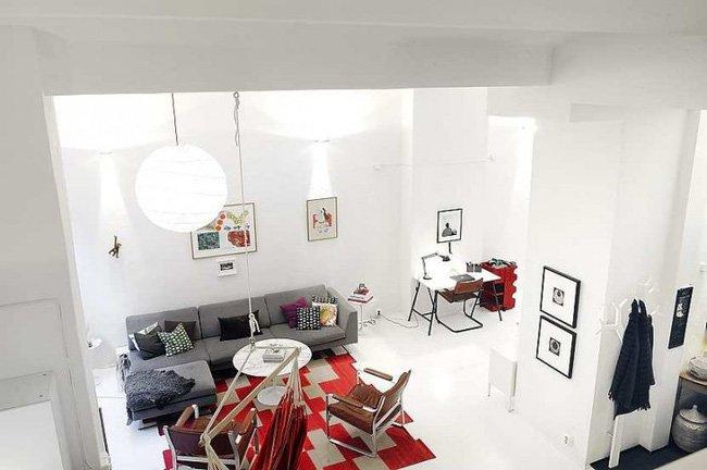 """Bố trí nội thất căn hộ nhỏ đẹp với """"tuyệt chiêu"""" che khuất nhược điểm thumbnail"""