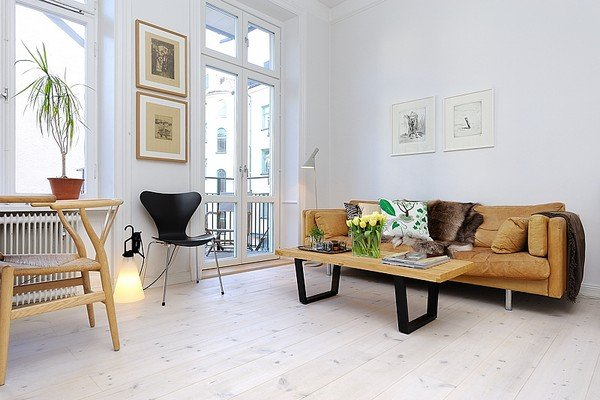 Bố trí nội thất nhà chung cư đẹp ngất ngây tại Thuỵ Điển post image