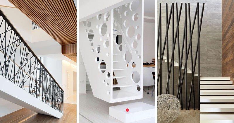 11 mẫu lan can cầu thang đẹp đầy sáng tạo cho ngôi nhà hiện đại thumbnail