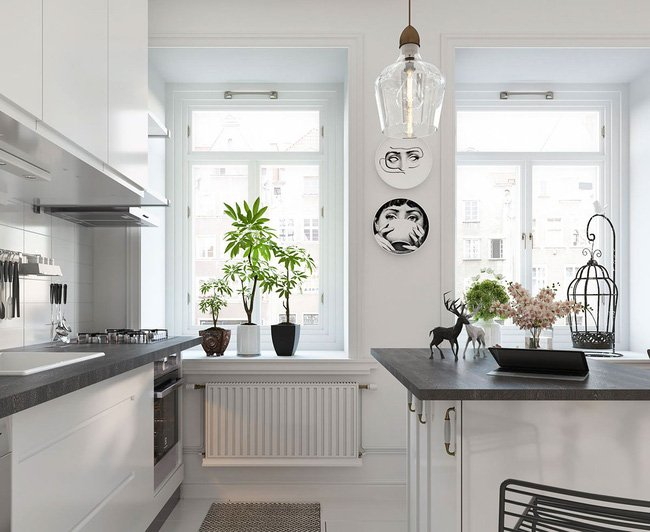 Mẫu căn hộ nhỏ đẹp mê ly theo phong cách Bắc Âu cho vợ chồng trẻ thumbnail