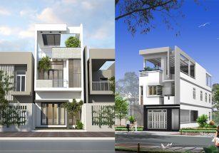 Bộ sưu tập mẫu nhà 2 tầng mặt phố HOT năm 2018 thumbnail