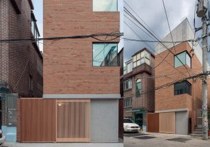 Mẫu nhà phố 2 tầng hiện đại ở Seoul Hàn Quốc Grown House thumbnail