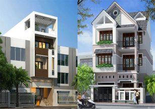 Bộ sưu tập các mẫu nhà phố 3 tầng đẹp hiện đại năm 2018 post image