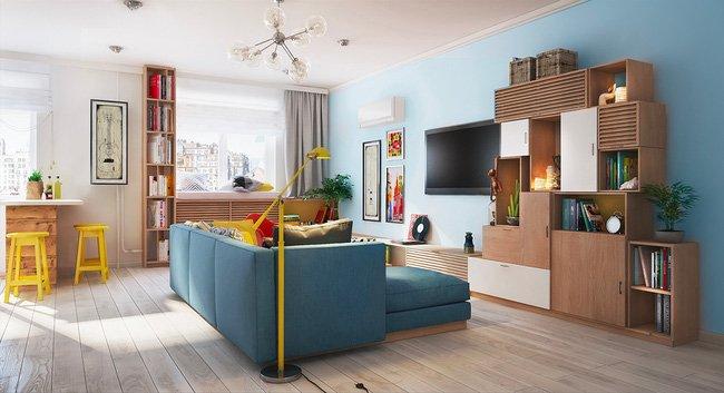 Mẫu thiết kế căn hộ chung cư đẹp đầy màu sắc thật ấn tượng năm 2018 thumbnail