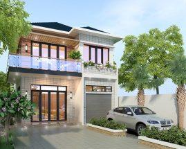 Các mẫu thiết kế nhà phố 2 tầng đẹp giá rẻ thumbnail