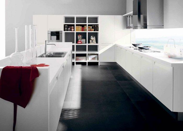 Mẫu nhà bếp đẹp hiện đại mới lạ với tủ bếp chữ U sang trọng post image
