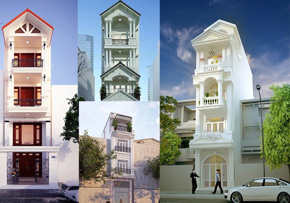 Bộ sưu tập 20 mẫu nhà phố kiến trúc Pháp đẹp mê hồn post image