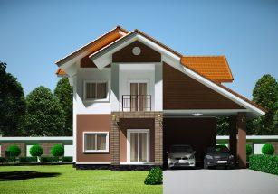 Những mẫu nhà 2 tầng hiện đại đẹp sang chảnh thumbnail