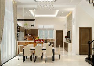 Bộ sưu tập các mẫu thiết kế nội thất phòng bếp và tủ bếp gia đình hiện đại nổi bật thumbnail